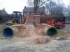 Speeltuin slopen en zand afgraven en afvoeren